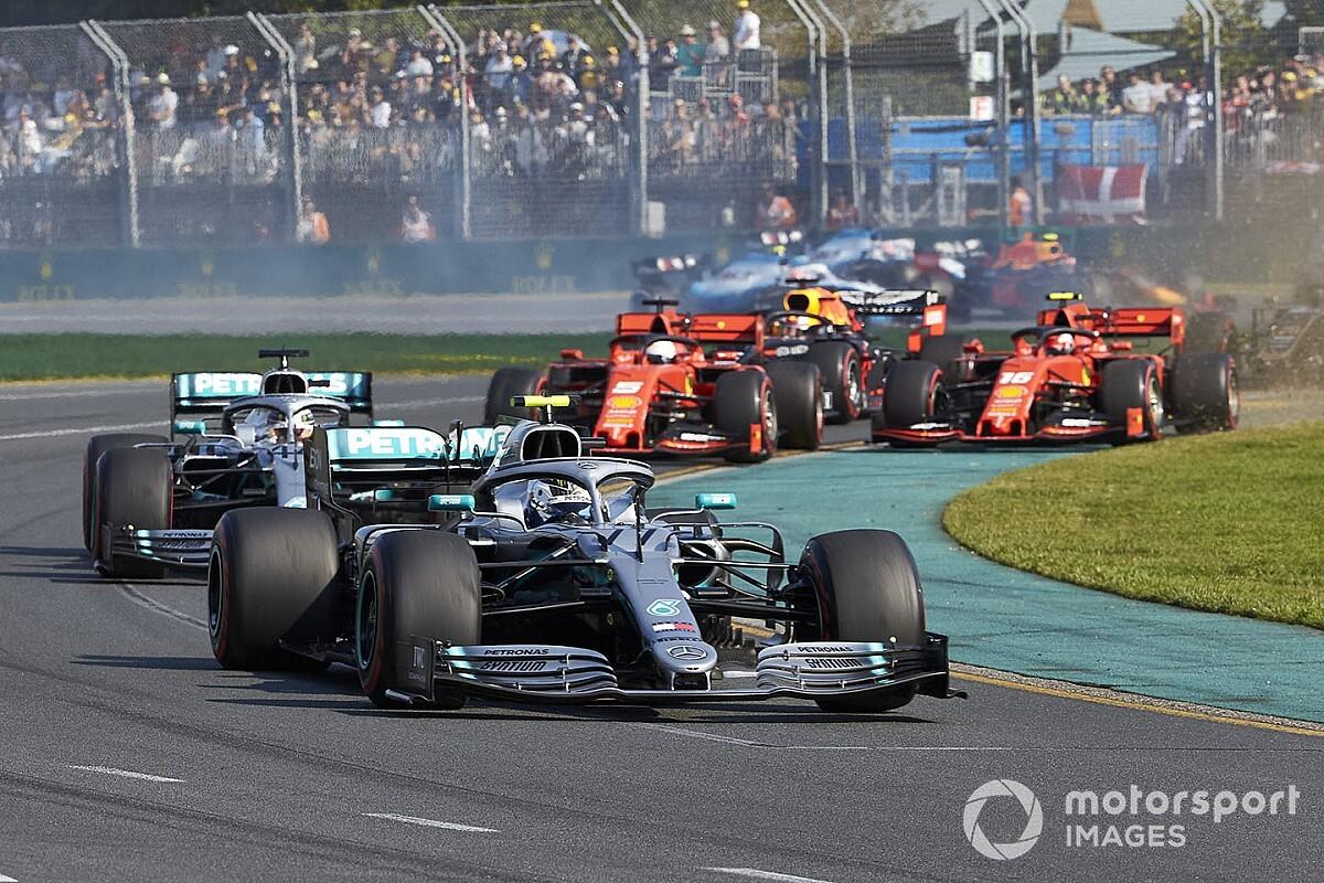 "Bottas: Australian GP drive felt like it was ""someone else"""