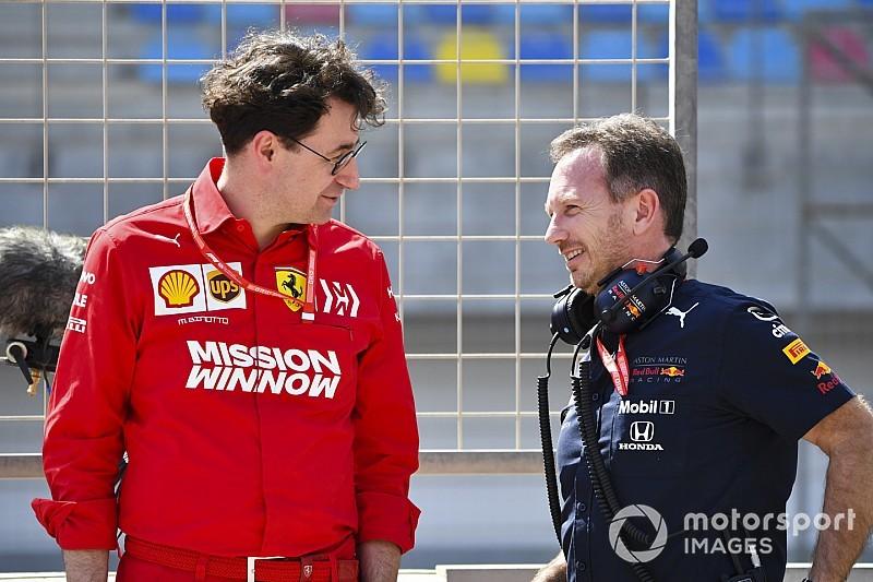A Red Bull nem akarja gyanúsítgatni a Ferrarit azzal, hogy túllépik a szabályok adta kereteket