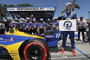 Long Beach IndyCar: Rossi beats Dixon, Power to pole