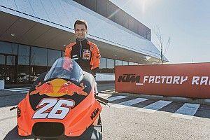 Fotogallery: ecco Dani Pedrosa vestito per la prima volta con i colori KTM