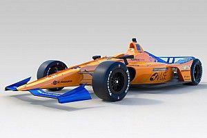 McLaren показала машину Алонсо для Indy 500