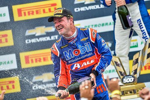 """Barrichello comemora 2º como vitória em prova com """"quê de Hockenheim 2000"""""""