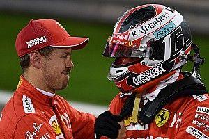 Ennyivel kapott ki Vettel Leclerctől a Bahreini Nagydíj időmérő edzésén: videó
