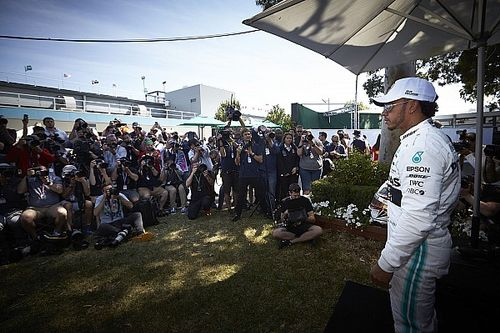 The joy of the travel and the chase in Formula 1