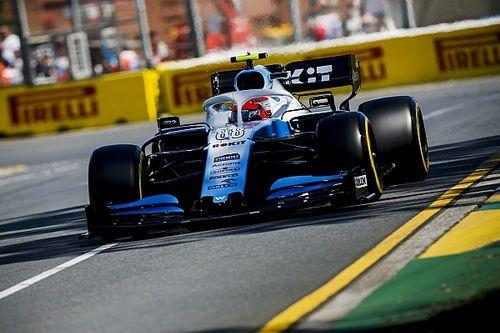 Kubica costretto a girare lontano dai cordoli: la Williams ha pochi ricambi