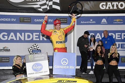 Joey Logano uses last-lap pass to win second Duel at Daytona