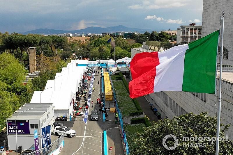El ePrix de Roma, segundo 'infectado' en Fórmula E por coronavirus