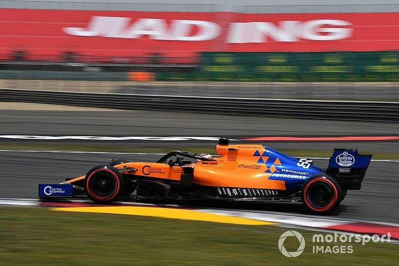 """Sainz says China has brought McLaren """"back to reality"""""""