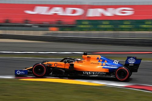 "Sainz says China has brought McLaren ""back to reality"""