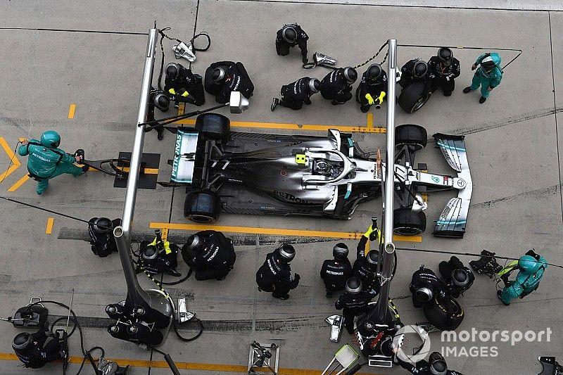 Le double arrêt de Mercedes a inquiété Bottas