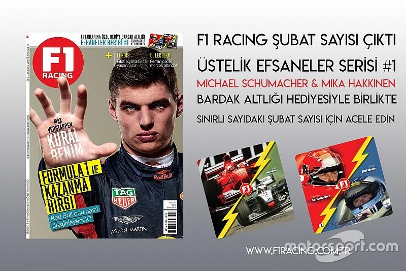 F1 Racing Şubat sayısı çıktı