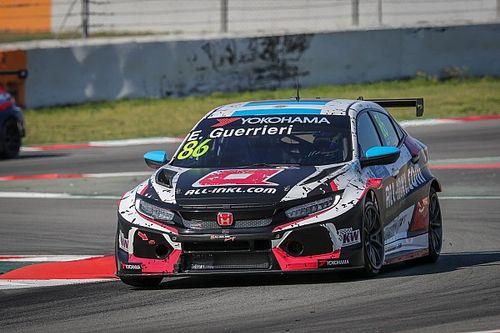 Guerrieri snelste tijdens eerste WTCR-testdag, Langeveld en Coronel zesde en negende