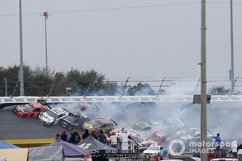 "Menard blames Johnson for huge wreck: ""Jimmie does that a lot"""