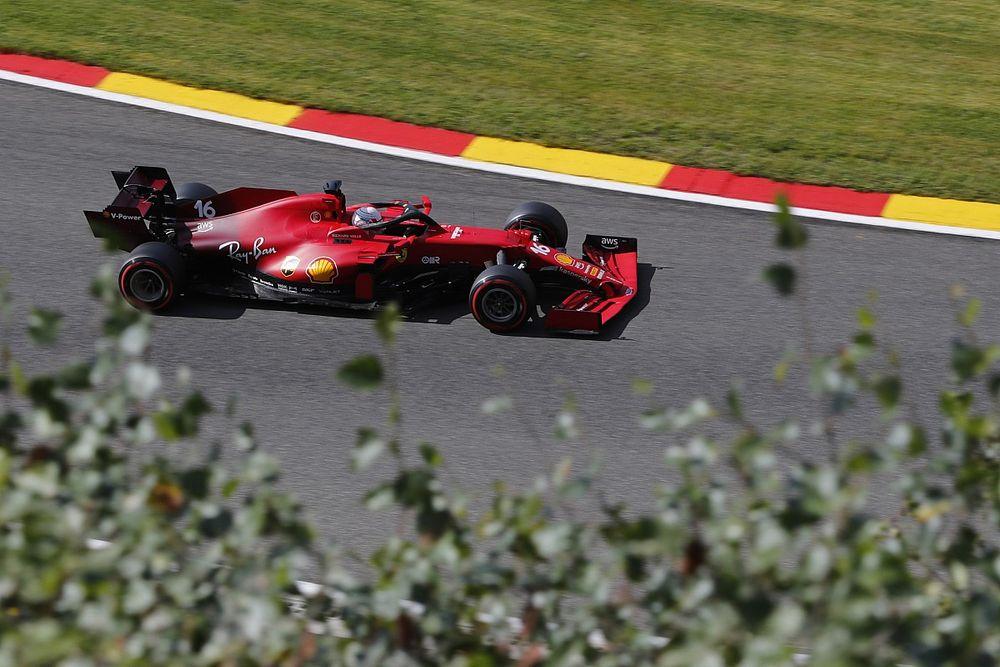 Ferrari wisselt chassis Leclerc na crash in tweede training op Spa