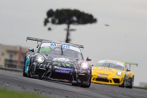 Porsche Cup: Frangulis completa corrida marcada por bandeiras vermelhas em Curitiba
