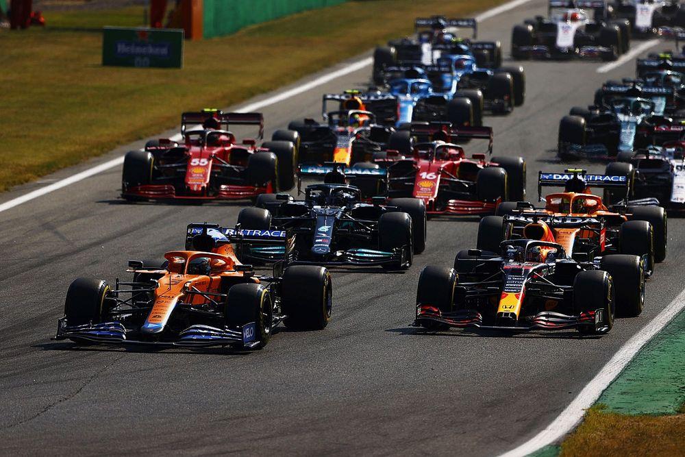 Lap Chart GP d'Italia 2021: Ricciardo, dominatore di Monza