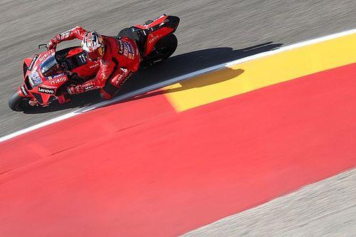 Aragon MotoGP: Miller tops tight FP2 for Ducati