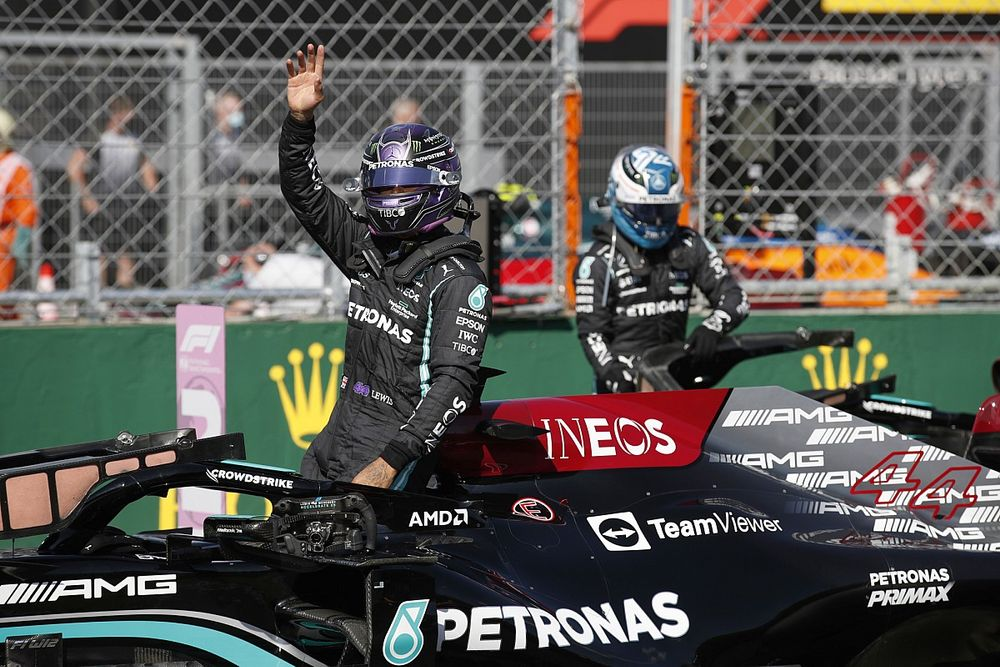 Wolff: Boos against Hamilton 'consequence' of Silverstone fallout