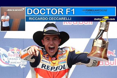 """Ceccarelli: """"Marquez ad Austin in superiorità psico-fisica"""""""