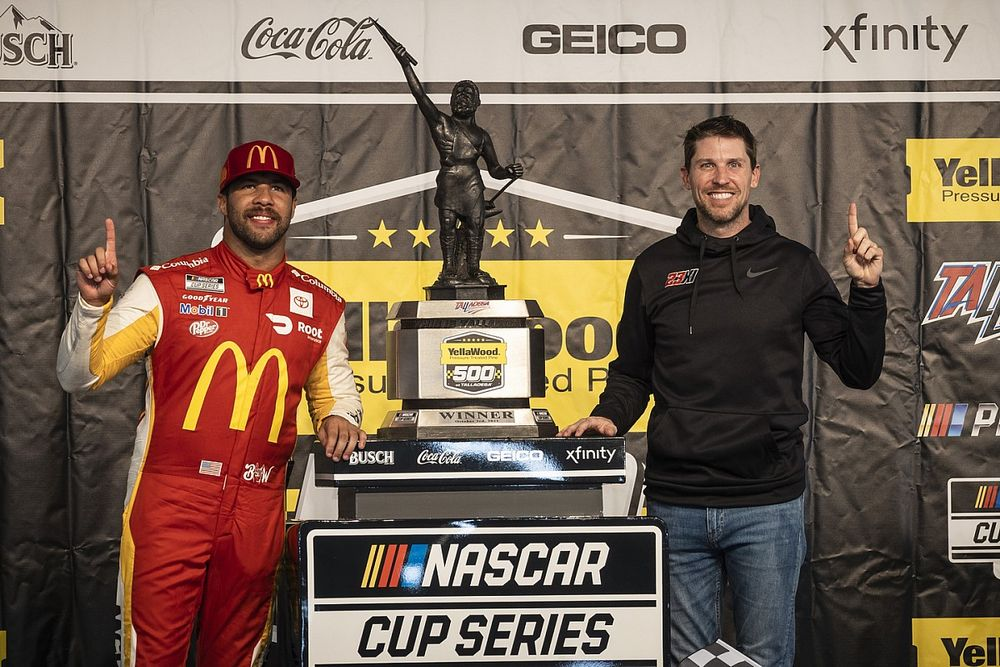 "Hamlin: Wallace's Talladega NASCAR victory ""more special"" than my own"