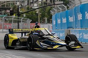Nashville IndyCar: Herta leads FP1, O'Ward and Daly shunt