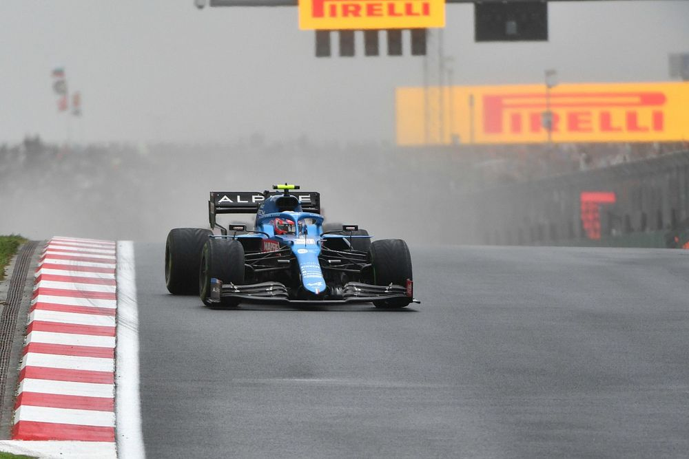 """How Ocon's """"dangerous"""" non-stop Turkey F1 strategy paid off"""
