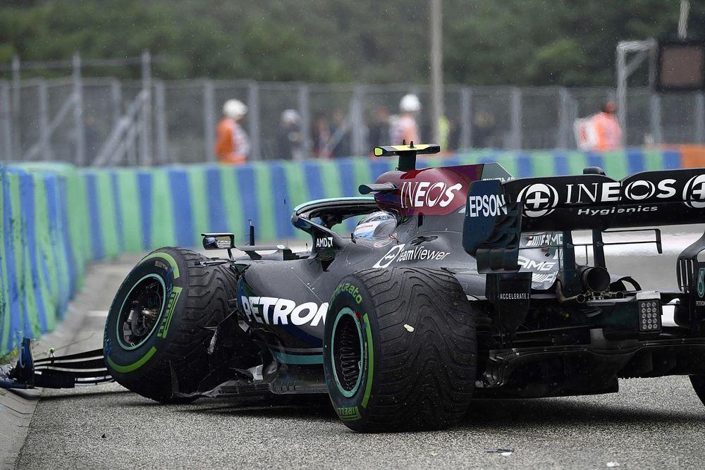 Wolff: Bottas Hungary crash won't influence 2022 F1 driver decision