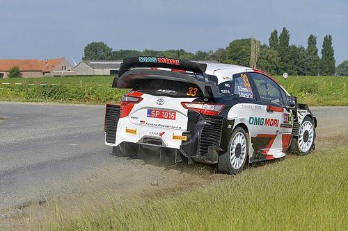 WRC, Rally Ypres, PS11: primo acuto Toyota con Evans