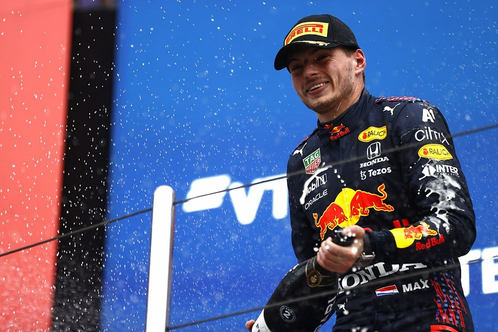 """Red Bull says Verstappen's Sochi F1 podium """"like a victory"""""""