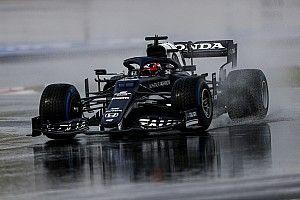 F1トルコFP3速報:ホンダPU勢がトップ3独占、ガスリー首位。角田裕毅は8番手