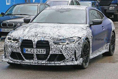 BMW M4, spuntano delle nuove foto spia: che sia la CSL da 550 CV?