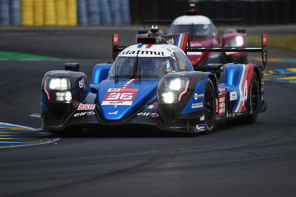 Le Mans 24h: Alpine quickest in disrupted FP3 as Toyota #8 crashes
