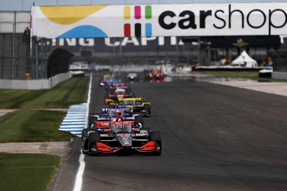 Indy: Power visszaverte Grosjean támadását a győzelemért, a bajnoki éllovas Palou motorja elfüstölt