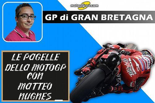 Pagelle MotoGP: Le gomme pesano sui voti