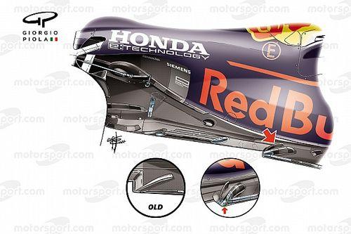 Qué implica el último cambio de suelo de Red Bull en F1