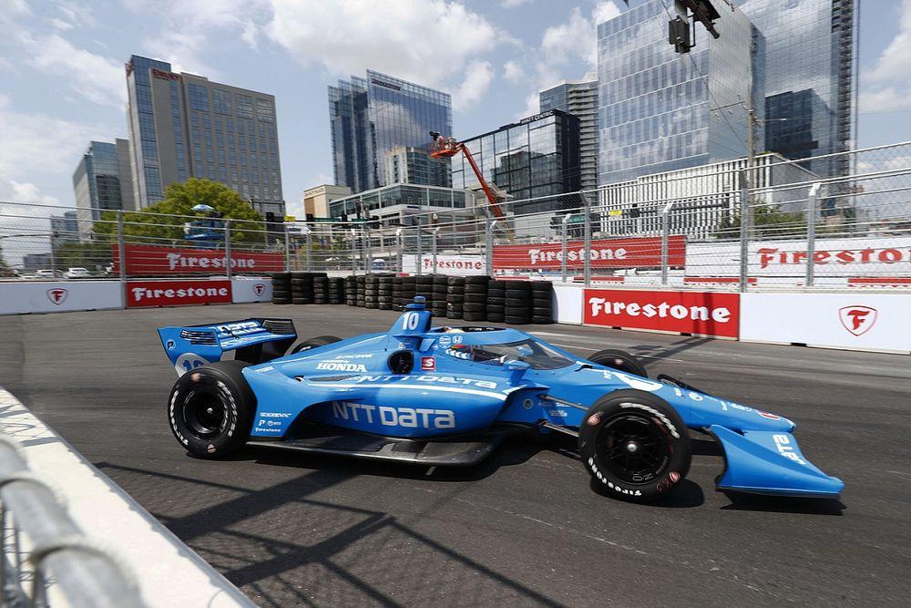 Palou salva el liderato de IndyCar y Ericsson gana en el caos de Nashville