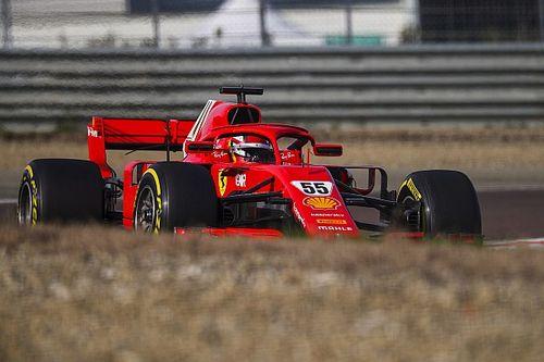Sainz baja sus tiempos en su Día 2 con Ferrari en Fiorano