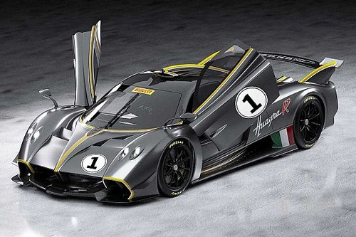 Pagani reveals Huayra R track-only supercar with 850bhp V12