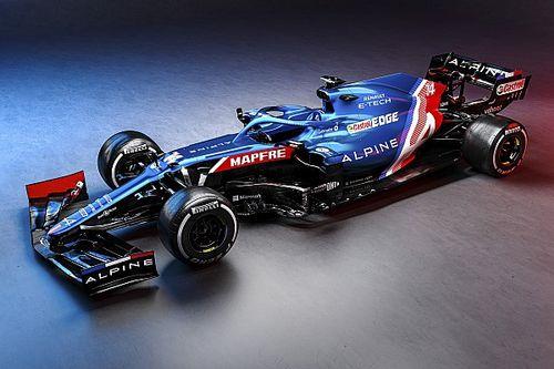 Wszystkie kolory Formuły 1