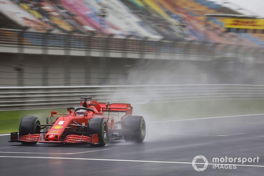 """Vettel: """"Con slicks incluso podríamos haber ganado"""""""