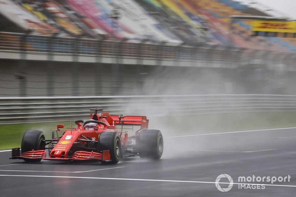 """Vettel: """"Non siamo riusciti a far lavorare le gomme"""""""