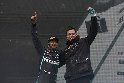 GALERÍA: Las 77 victorias de Hamilton con Mercedes