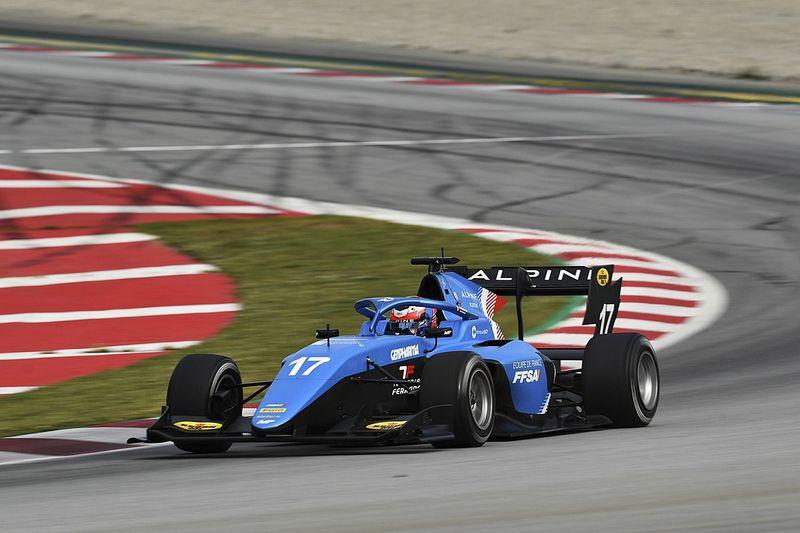 Martins dan MP Motorsport Kuasai Tes Barcelona