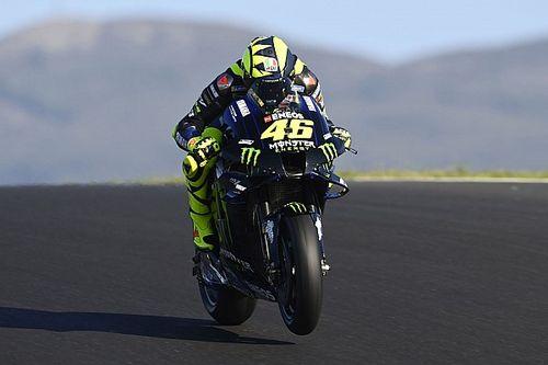MotoGP: Valentino Rossi y la Academy, de test en Portimao