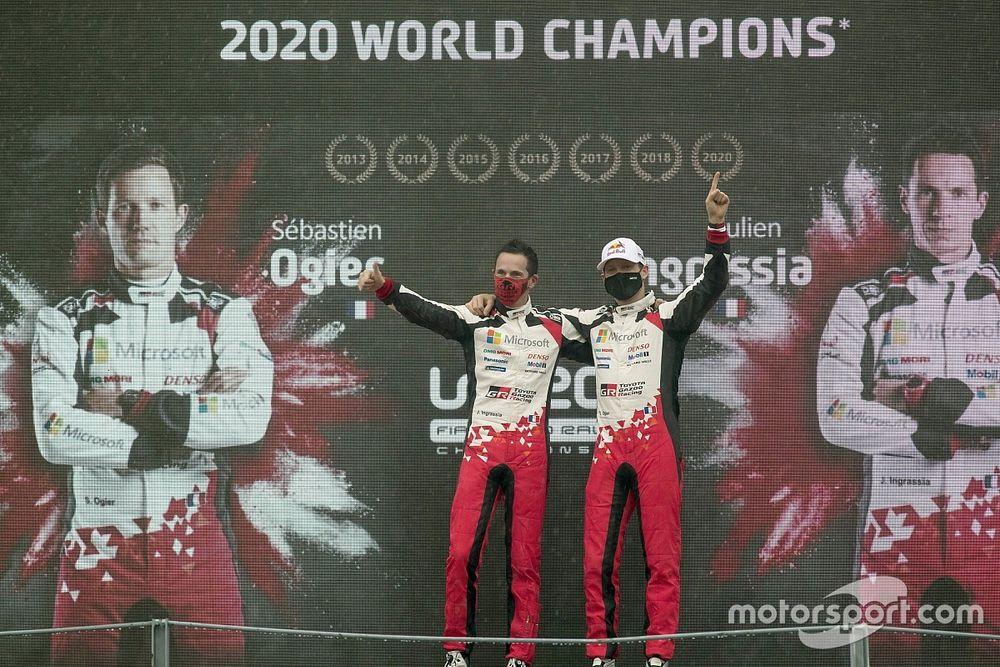 WRC: Ogier, è il titolo di chi sa alzare il livello quando conta