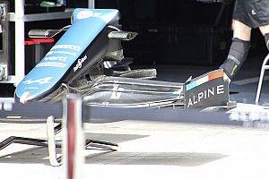 Alpine: nuova bandella laterale dell'ala anteriore
