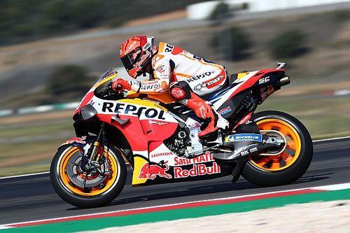 MotoGP: Viñales lidera TL1 em Portugal; Márquez é terceiro em retorno após nove meses