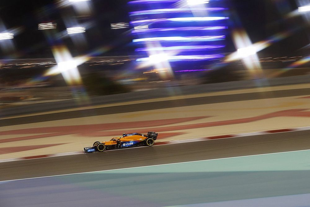 "Norris: McLaren ""not miles away"" from F1 rivals Mercedes, Red Bull"