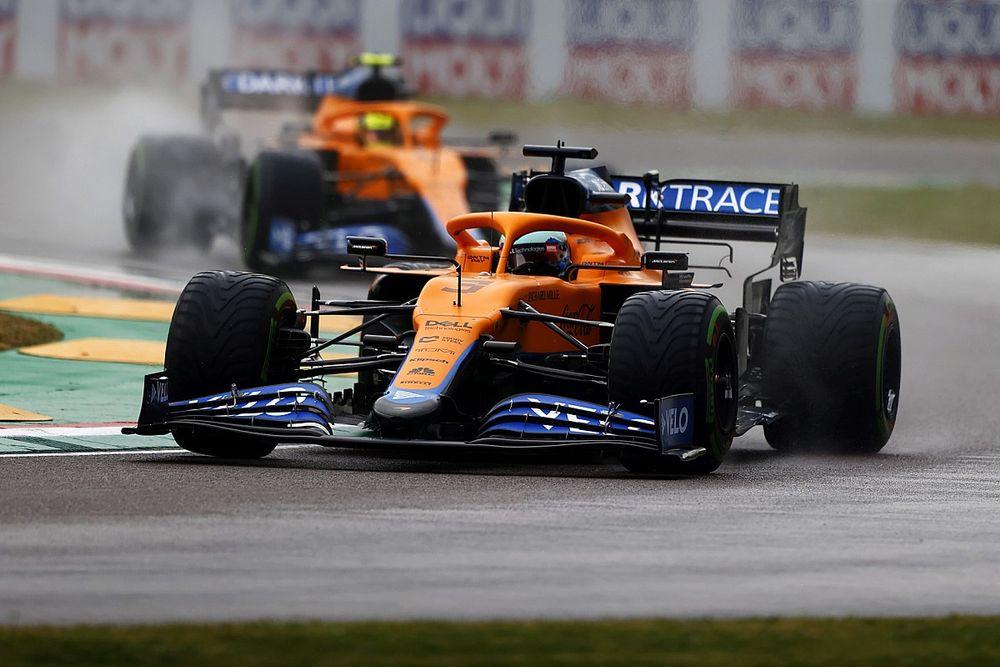 """Ricciardo debió """"tragar el orgullo"""" al dejar pasar a Norris"""