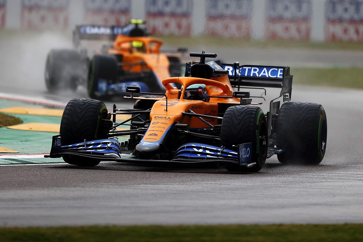 "Ricciardo had to ""swallow pride"" in Imola swap with Norris"